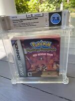 Pokemon Mystery Dungeon: Red Rescue Team 💎 7.5 WATA 💎Nintendo Gameboy Advance