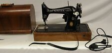 Vintage Singer Sewing Machine with Knee Action Control - Electric +Original Case