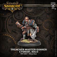 Warmachine: Cygnar Trencher Master Gunner Solo PIP 31067 BNIB Free Shipping