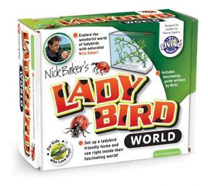 Minibeasts My Living LADYBIRD WORLD  observing tank ETC  - Nick Baker nature kit