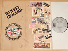 DANYEL GERARD-Gone with the wind (1977/phasedepleinecapacitéopérationnelle + promo-Card/LP Near Comme neuf)