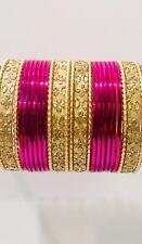 Indian Bollywood Bangles Costume Fashion Jewellery Wedding Party Wear 24 Bracele