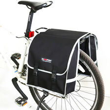 MTB Bicycle Rear Rack Seat Trunk Bag Double Side Pannier Bycicle Carrier Bags