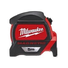 Milwaukee Tape Measure 5M 48-22-7305 Magnetic Tool Finger Stop Rulers_AC