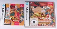 Spiel: INAZUMA ELEVEN 2 FEUERSTURM für Nintendo DS + Lite + Dsi + XL + 3DS 2DS