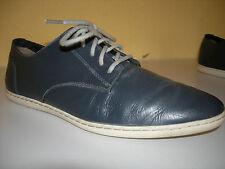 FRED PERRY B8080W/491 Damen Schuhe feines Leder Blau Gr.40(6,5) TOP