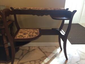 Telephone Table In Antique Tables 1900 1950 For Sale Ebay