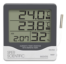 Sper Scientific 800015 Large Display Indoor/outdoor Thermometer