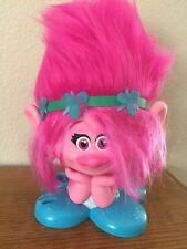 TROLLS POPPY STYLE STATION Pink Hair Toy Doll Playset DREAMWORKS 2016 Movie