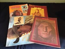 Vintage Native American Indian Books 1970s Chief Joseph Stamps Scholastic LOOK