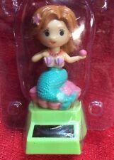 Solar Powered Dancing Mermaid Bobble Head Toy
