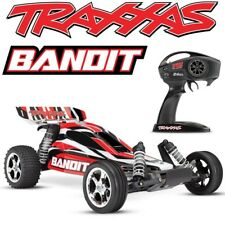 NEW Traxxas 24054-4 Bandit XL-5 2WD 1/10 Electric RC Buggy RED Body - FREE SHIP!