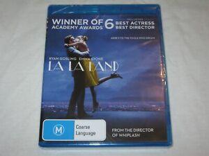 La La Land - Ryan Gosling - Brand New & Sealed - Region B - Blu Ray