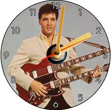 ELVIS PRESLEY - CD CLOCK DOUBLE GUITAR