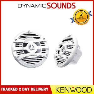 """Kenwood KFC-1653MRW Waterproof 160 mm (6.5"""") 150 WATT Marine 2 Way Speakers"""