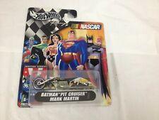 MATTEL HOT WHEELS '04 ISSUE NASCAR BATMAN PIT CRUISER MARK MARTIN JUSTICE LEAGUE
