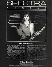 Heart Nancy Wilson 1983 Dean Markley Spectra Series Guitar Amps 8 x 11 ad print