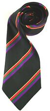 HAMPSHIRE REGIMENT  WOVEN STRIPE  UK MADE MILITARY TIE