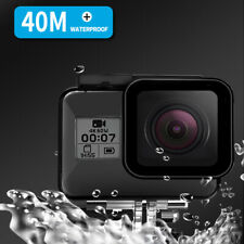 TELESIN For Gopro Hero 8 40M Underwater Housing Waterproof Case  Cover Camera US