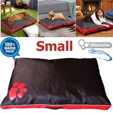 Dog Bed washable waterproof cushion mattress cover cat warm soft brown mat