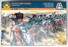 "Italeri Napoleonic French Light Cavalry 1/72 (Figuren) ""NEW"" 6080"