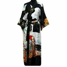 Retro kimono Japanese Yukata Obi Robe Geisha Dress Gown Bath Robe Pajamas  03