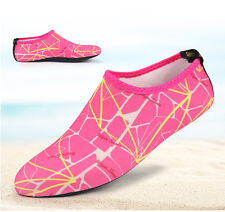 Mens Women Yoga Water Shoes Aqua Exercise Pool Beach Socks Swim Slip On Surf 1pc