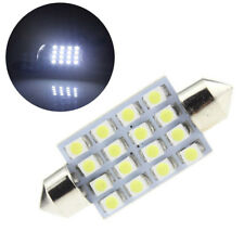 White LED Interior Package Kit For T10 36mm Map Dome License Plate Lights CA KX