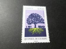 FRANCE 2010, timbre SERVICE 146, CONSEIL EUROPE, ARBRE, TREE, neuf**, MNH STAMP