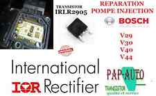 Réparation pompe à injection Bosch VP44 VP29 VP30 IRLR2905 Transistor Mosfet