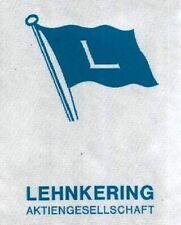 Lehnkering AG Duisburg Hist. share 1941 shipping freight logistics warehouse NRW
