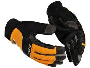 GUIDE 6401 CPN Hi Viz Cut Anti Syringe Puncture Needle Proof Protection Gloves