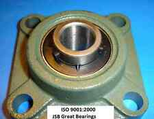"""(Qty 2) 1"""" UCF205-16 Quality square flanged UCF205 Pillow block bearing ucf 205"""