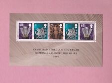 Great Britain, 2006 SGw143, National Assembly for Wales, Mint mini sheet