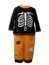 Bonnie Jean Matt's Scooter Boys Halloween Playwear Outfits 3T, 4T Skeleton