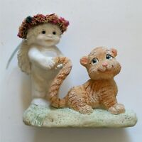 """Vintage Dreamsicles Collectible Treasures Little Bitties """"Tiger By The Tale"""" NIB"""