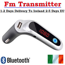 Wireless Bluetooth FM Transmitter AUX Modulator USB Charger Car Kit Handsfree IE