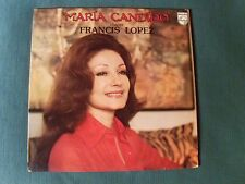 MARIA CANDIDO chante FRANCIS LOPEZ - LP 1975 French pressing PHILIPS 6332 279