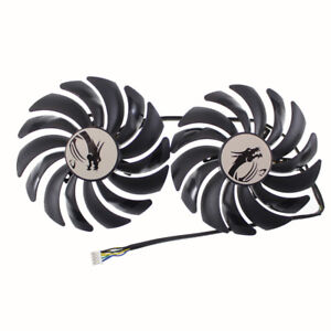 PLD10010B12HH DC12V 0.40A Graphics fan for MSI GTX 1070Ti Titanium 8G