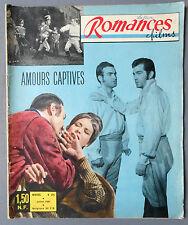 ► PHOTO ROMANS - ROMANCES FILMS 25/1961 - AMOURS CAPTIVES - MILENA VANNI - MONTI