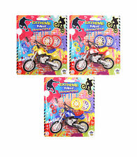 5pc Set Motorbike Extreme Motorcross Motorcycle Bike Vehicle Toy Children Kids