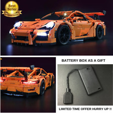 LED Light Kit ONLY For LEGO 42056 Porsche 911 GT3 RS Technic 20001 / 3368 /3368B