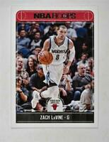 2017-18 Hoops Red Back #220 Zach LaVine