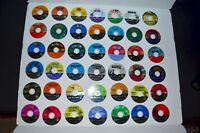 Lot of 50 AS IS Broken Scratched Nintendo GameCube Video Games Discs