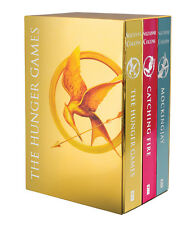 The Hunger Games Trilogy Suzanne Collins Gold Foil Edition Box Set 9780545791915