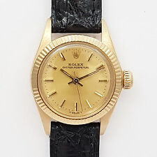 ROLEX LADY PRÄSIDENT OYSTER PERPETUAL - Ref. 6719  18ct GOLD - Anfang 80er Jahre