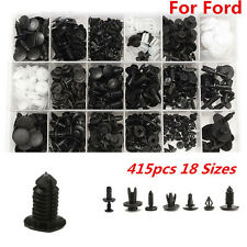 415pcs For Ford 18 Size Trim Clip Retainer Panel Bumper Fastener Kit Set