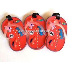 Red Racing Cars Luggage Tag Childs Backpack Diaper Bag ID Badge (Lot of 3 Tags)