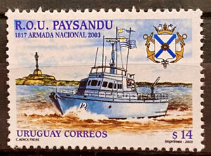 URUGUAY - R.O.U. PAYSANDU  1817 THE NATIONAL ARMY 2003  - MNH STAMP