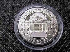 * Medalla de plata 2005 aprox. 10 GR. plata pp * al pueblo alemán